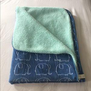 Baby 👶🏻 Blue Elephant Plush Blanket